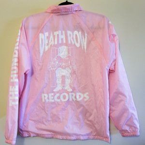 The Hundreds x Death Row Limited Pink Jacket
